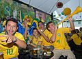 Fans in Brasilia during Brazil & North Korea match at World Cup 2010-06-15 2.jpg