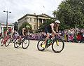 Fans line the streets to watch Mens Triathlon (7741423544).jpg