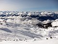 Fantastic Alps panorama at the top of the skilift 2500 m - panoramio.jpg