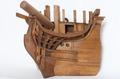 Fartygsmodell-Linjeskepp. 1700-tal slutet - Sjöhistoriska museet - O 00026.tif