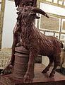 Fauno in marmo rosso antico, II sec da originale del tardo ellenismo, da villa adriana 05.JPG