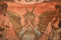Federico zuccari, inferno, 1574-79, 03 satana 1.JPG
