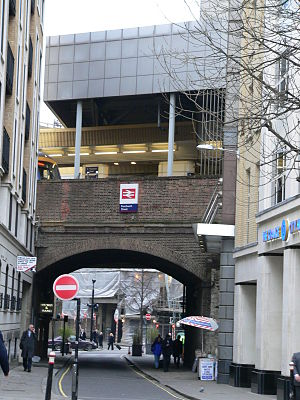 Fenchurch Street railway station - The station has an entrance on Cooper's Row, closer to Tower Hill on the London Underground network.