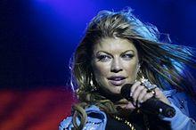 Fergie in concerto nel 2006