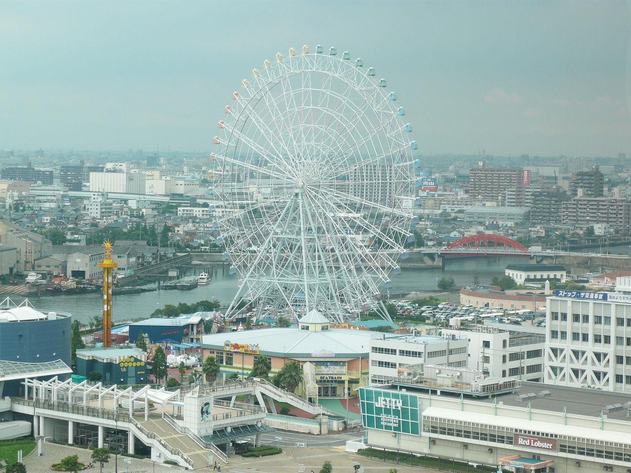 File:Ferris Wheel - Port of Nagoya.JPG - Wikimedia Commons