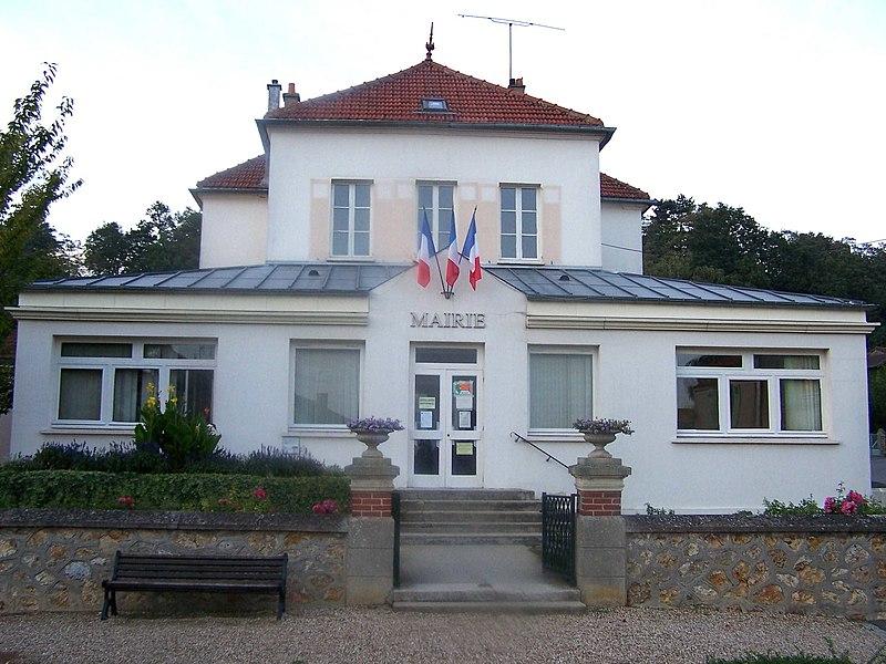Mairie de Feucherolles (Yvelines, France)