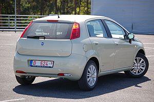 Fiat Grande Punto - Fiat Punto 5-door hatchback