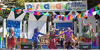 Dancers perform at the 2015 Pistahan Festival in San Francisco.