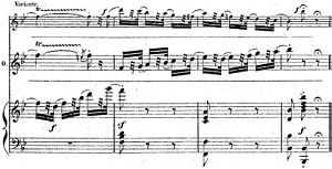 Coloratura - Image: Final cadenza Valse Mad Scene Hamlet (piano vocal score p 292)