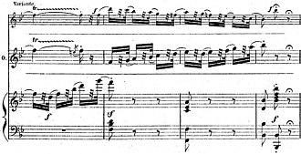 Coloratura - Image: Final cadenza Valse Mad Scene Hamlet (piano vocal score p 292)