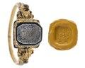 Fingerring med sigill, 1600-tal - Hallwylska museet - 110173.tif