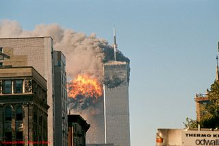 UA Flight 175 hits WTC south tower, photo by Robert J. Fisch Source: Wikipedia 320px-Fireball_erupting_in_the_South_Tower_%2888181088%29.jpg