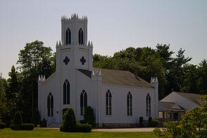 Rochester, Massachusetts - First Congregational Church, located near Town Hall
