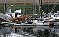 Fishing boats.Hoonah . Alaska. (11257382625).jpg