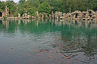Five Dragon Pool - Five Dragon Spring Pool