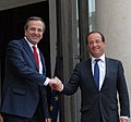 Flickr - Πρωθυπουργός της Ελλάδας - Francois Hollande - Αντώνης Σαμαράς (5) (cropped).jpg
