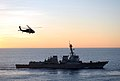 Flickr - Official U.S. Navy Imagery - A helicopter approaches the flight deck of USS McCampbell..jpg