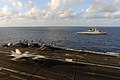 Flickr - Official U.S. Navy Imagery - An aircraft lands on the flight deck of the USS Dwight D. Eisenhower..jpg