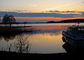 Flickr - Per Ola Wiberg ~ mostly away - sun has set over lake Mälaren.jpg