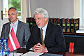 Flickr - Saeima - Ojārs Kalniņš tiekas ar Dānijas ārlietu ministru.jpg