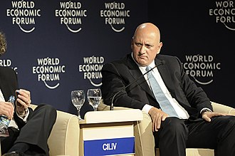 Süreyya Ciliv - Sureyya Ciliv at the World Economic Forum on Europe and Central Asia in Istanbul, 2008.