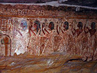 Aniba (Nubia) Building in Egypt