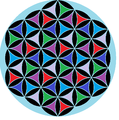 Flower of life 6-color triangles.png