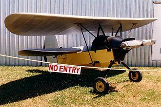 Mignet Pou-du-Ciel - Image: Flying Flea Canadian Museum Of Flight 23July 1988