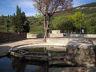 Castegnero - Fontana Fozze (popular fountain)