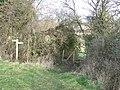 Footpath Junction - geograph.org.uk - 1153714.jpg