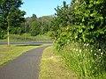 Footpath alongside Haweswater Road Penrith - geograph.org.uk - 2458085.jpg