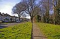 Footway along Houndsden Road, London, N21, looking west. - geograph.org.uk - 697558.jpg
