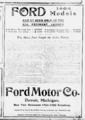 Ford Motor Co. Advertisement (The Sun, 1906-01-14, Third Section, Page 13).png