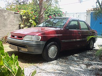Ford Orion - Brazilian built 1994 Ford Verona/Orion.