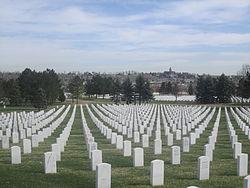 Fort Logan National Cemetery, Denver, CO, graves IMG 5959.JPG
