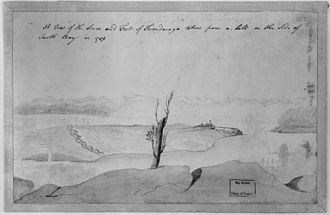 Fort Carillon - Image: Fort ticonderoga 1759