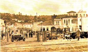 Barueri - Centro area of Barueri in 1920
