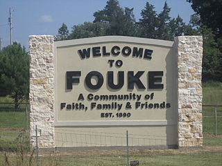 Fouke, Arkansas City in Arkansas, United States