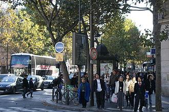 Boulevard Saint-Michel - Boulevard Saint Michel near Musée de Cluny