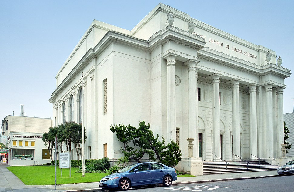Fourth Church of Christ, Scientist, San Francisco, 29 December 2009 (2)