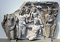 Frammento di sarcofago con mito di endimione che riceve la dea lunare selene, 190 dc ca.JPG