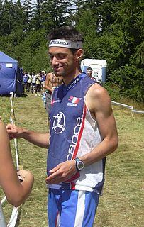 François Gonon French orienteering competitor