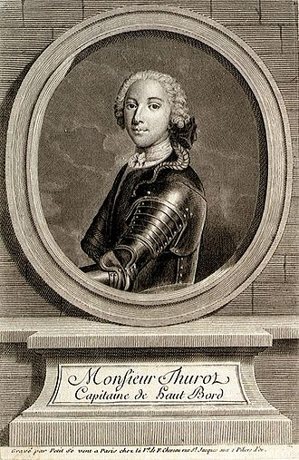 François Thurot - Engraving of Thurot, by Giles Petit