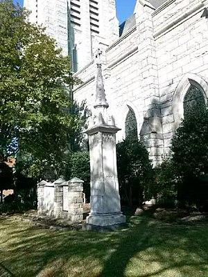 James Chisholm (priest) - Rev. Devlin memorial at historic St. Paul's Catholic Church