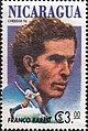 Franco Baresi 1994 stamp of Nicaragua.jpg