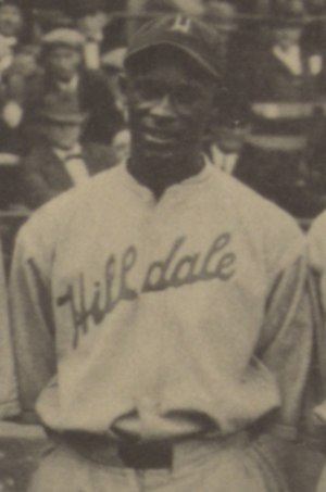 Frank Warfield - Warfield at the 1924 Colored World Series.