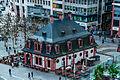 Frankfurt, Hauptwache, Blick von der Astor Film Lounge (13949029622).jpg