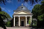 Frankfurt-Hoechst Friedhof Trauerhalle
