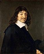 René Descartes, in un dipinto di Frans Hals
