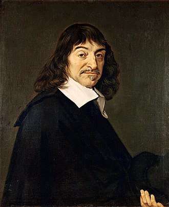 René Descartes - Portrait after Frans Hals, 1648